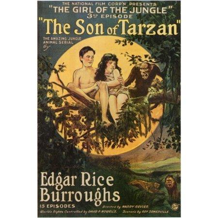 The Son of Tarzan Movie Poster (11 x 17)
