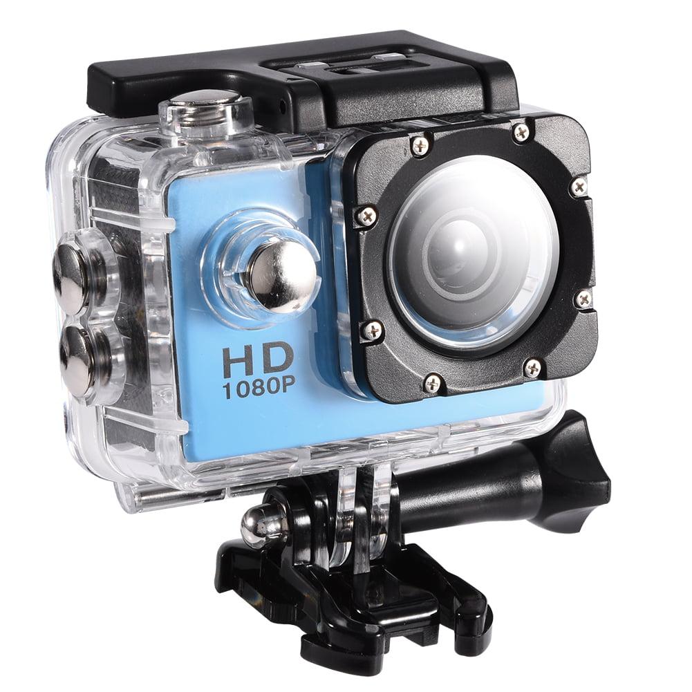 FDIT Waterproof Camera DV 7 Colors Waterproof Outdoor Cycling Sports Mini DV Action Camera Camcorder