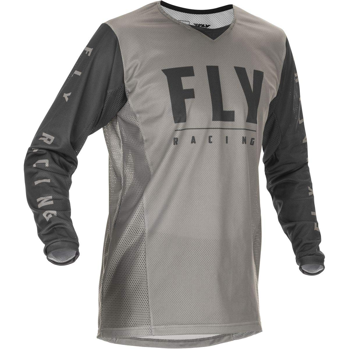 Fly Racing 2021 Womens Lite Jersey Large Black//Grey