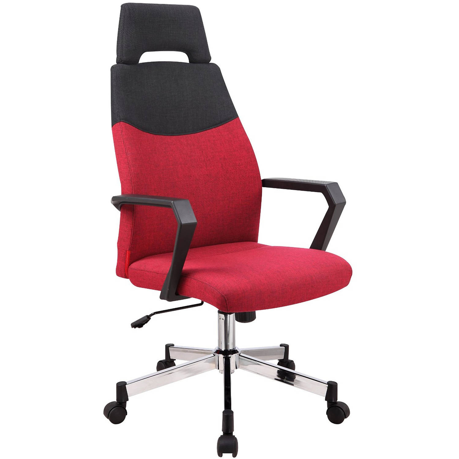 Merax High Back Ergonomic Linen Fabric fice Chair with