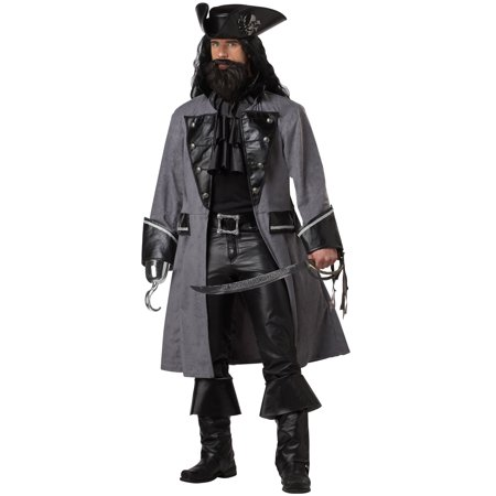 Blackbeard, The Pirate Adult Costume](Blackbeard Costume For Adults)