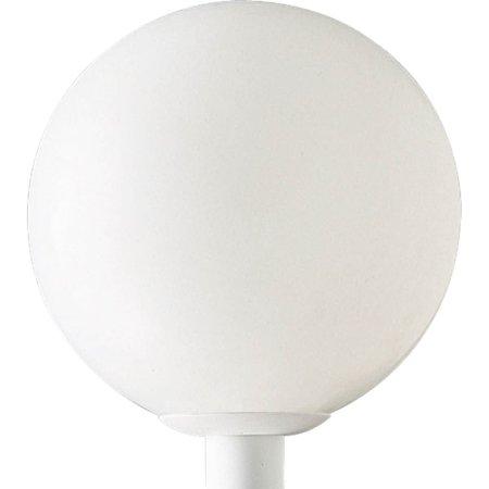 - Acrylic Globe One-Light Post Lantern
