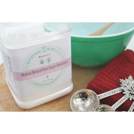 Design Sugar Jar - Keystone Pantry Allulose Natural Rare Sugar Sweetener 3-Lb Jar