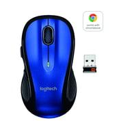 Logitech Wireless M510 Mouse, Blue