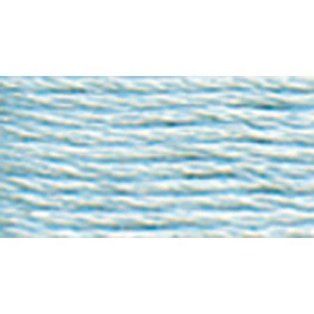 DMC Pearl Cotton Ball Size 8 87yd-Ultra Very Light Blue - image 1 de 1