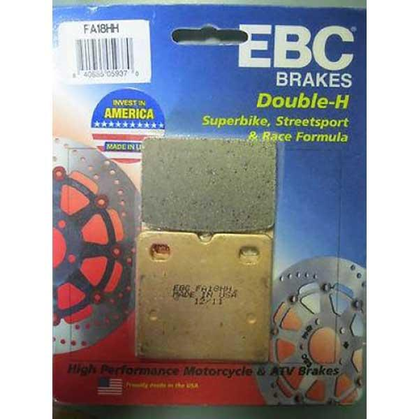 EBC Double-H Sintered Brake Pads Front (2 sets Required) Fits 76-79 Ducati 900 SS