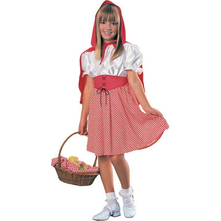 Red Riding Hood Child Halloween Costume - Red Riding Hood Costume For Kids