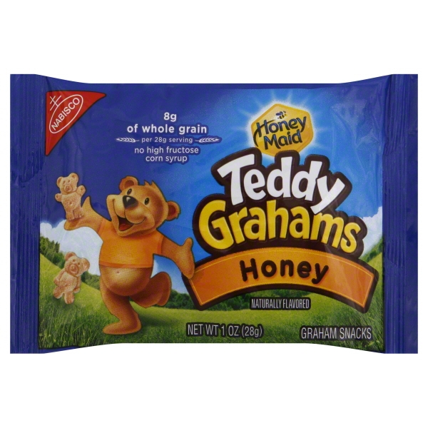 NBSC HONEY MAID TEDDY GRHMS HNY GRHM CK BAG