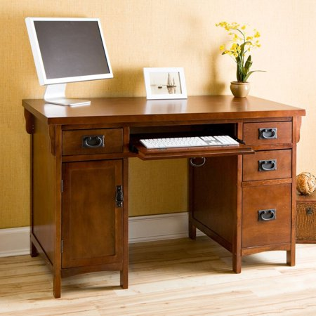 Westgate Computer Desk, Espresso Finish