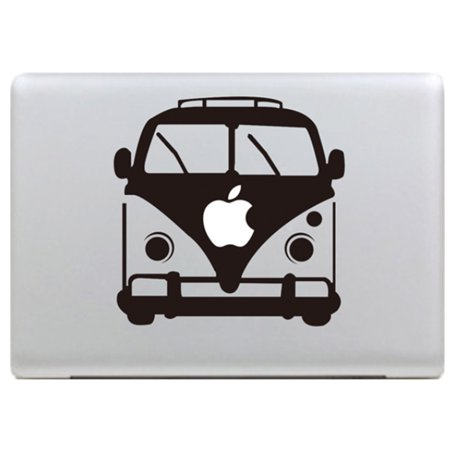 Removable Vinyl Decal Sticker Skin Cover Flower Tree Bus For MacBook Air 11