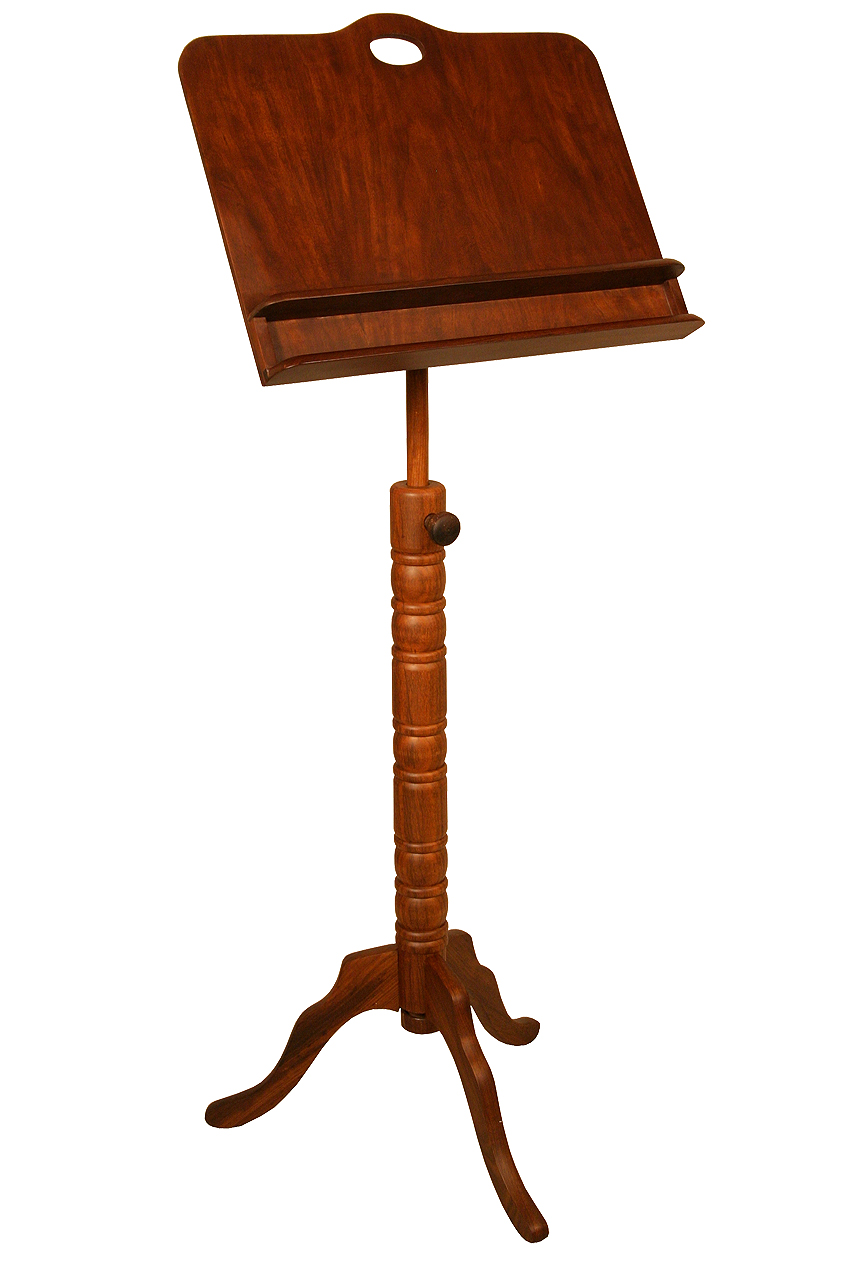 Roosebeck Double Shelf Colonial Music Stand by Roosebeck