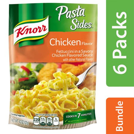(6 Pack) Knorr Chicken Pasta Side Dish, 4.3 oz