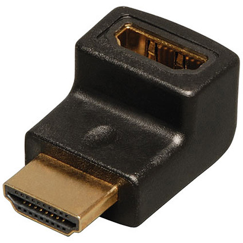 Tripp Lite P142-000-UP HDMI Right Angle Up Adapter/Coupler, Male to Female