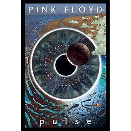 Framed Pink Floyd   Pulse Eyeball Vision 36X24 Music Art Print Poster