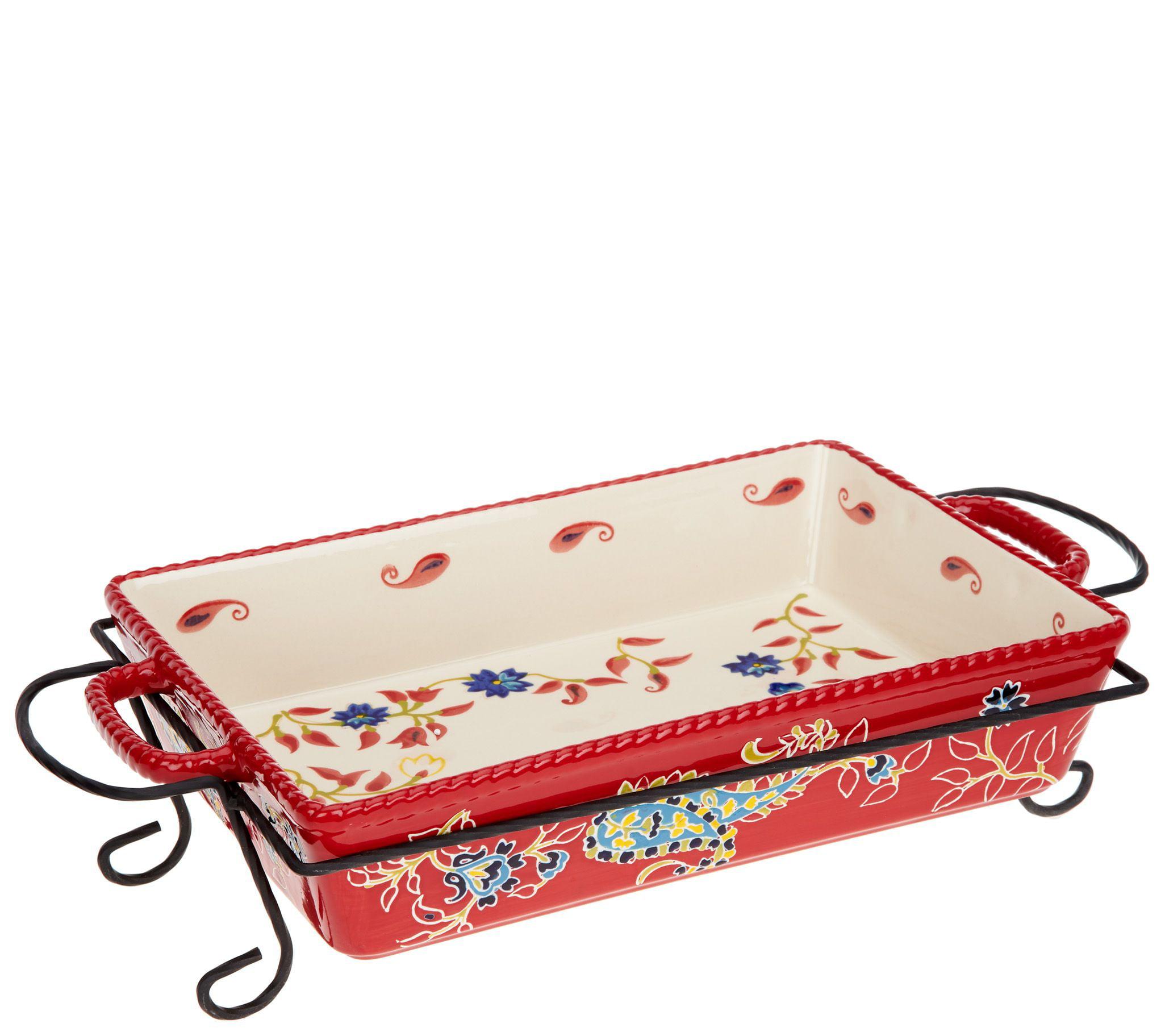 Valerie Bertinelli 6 Piece Bake Serve Set K47190 For Kitchen And Cooking Walmart Com Walmart Com