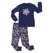 Sleepyheads Holiday Kid, Toddler, and Baby Long Sleeve Knit Pajamas PJ Sets