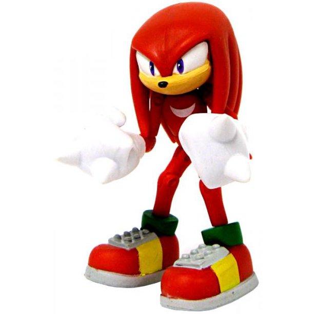 Sonic The Hedgehog Knuckles The Echidna Action Figure No Packaging Walmart Com Walmart Com