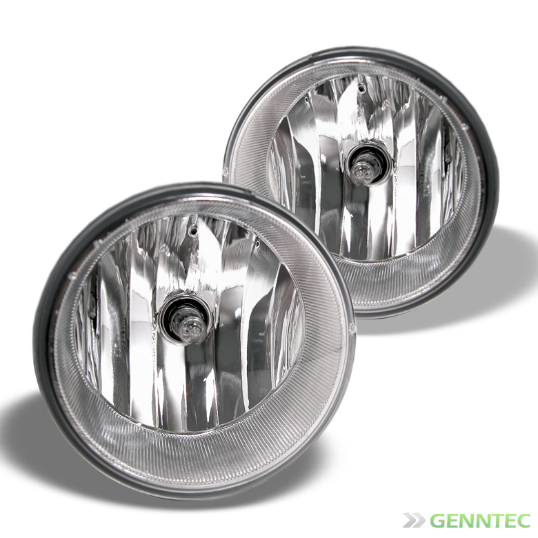 2005-2011 Tacoma, 2007-2013 Tundra Fog Light Kit Pair w/Wiring Kit & Switch 2006 2007 2008 2009 2010 Pair Left+Right