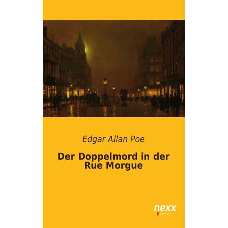 Der Doppelmord in der Rue Morgue - eBook](Rue Morgue Halloween)