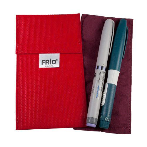 FRIO Duo Pen Insulin Cooling Wallet Red