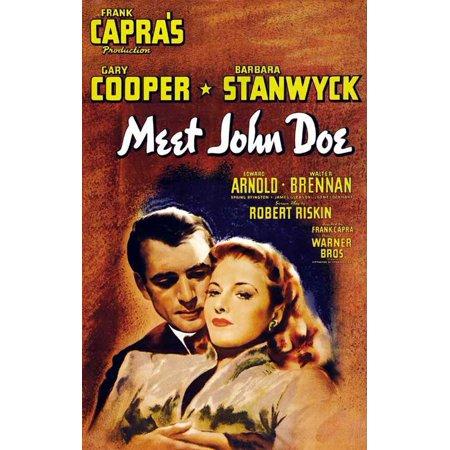 Doe Deere Halloween (Meet John Doe POSTER Movie B Mini)