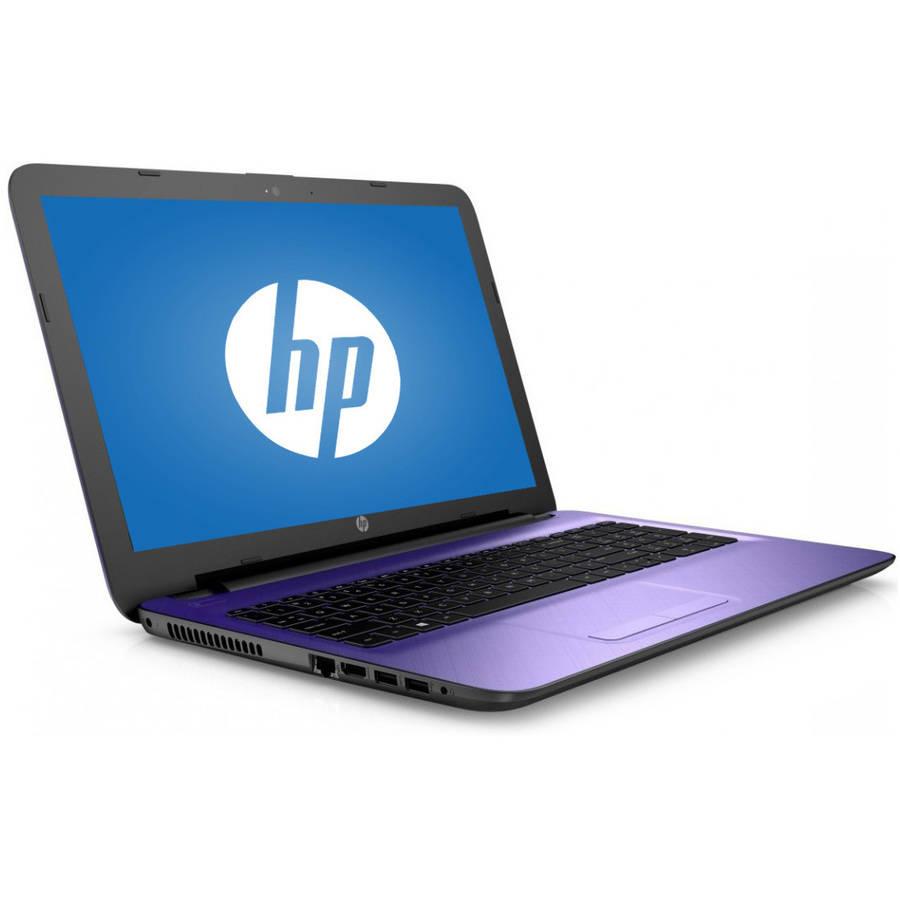 "Recertified HP Iris Purple 15.6"" 15-Ac128Ds Laptop PC with Intel Pentium N3700 Processor, 4GB Memory, 1TB Hard Drive and Windows 10 Home"