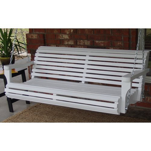 August Grove Arencibia Classic Style Porch Swing