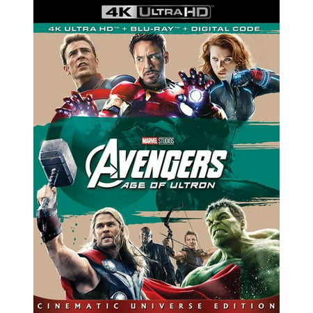 Avengers: Age of Ultron (4K Ultra HD + Blu-ray + Digital Code) (Ultra Axe)