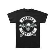Avenged Sevenfold Men's  Deathbat Crest T-shirt Black