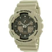 Men's G-Shock GA100SD-8A Black Resin Analog Quartz Watch