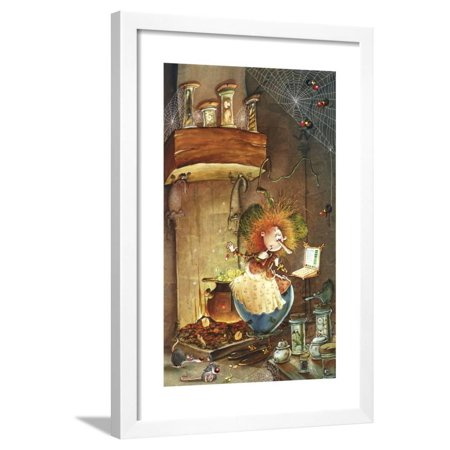Witches Brew Framed Print Wall Art By Francois Ruyer - Halloween Witches Brew Poem