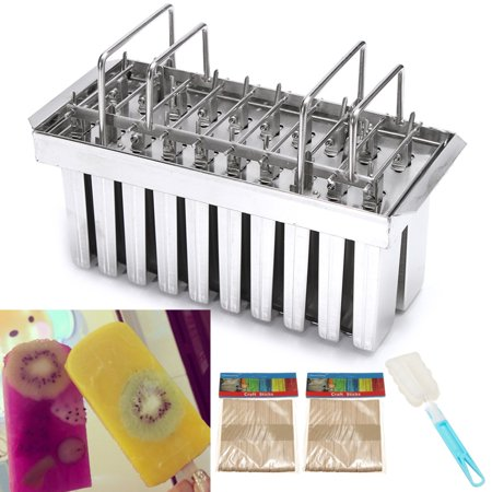 20 Lattice Stainless Steel Molds Ice Lolly Popsicle Ice Cream Stick Holder Square head/Round head/V-Type