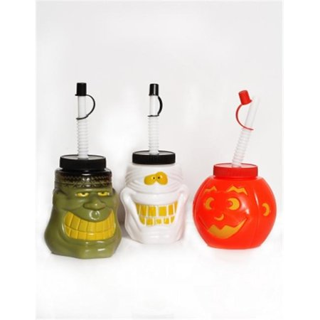 Its in the Bag 54005 Halloween Character Canteens- Pack of 72