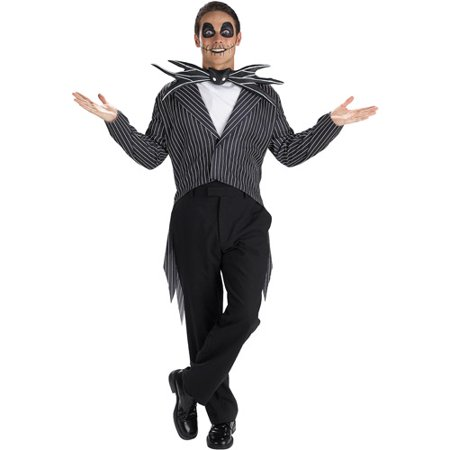 Jack In The Box Head Halloween Costume (Jack Skellington (