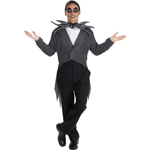 "Jack Skellington (""Nightmare Before Christmas"") Classic Adult Halloween Costume"