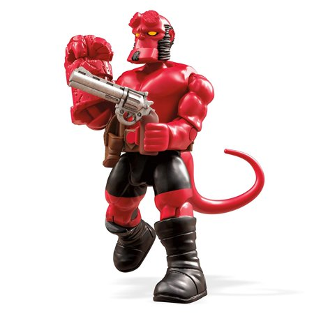 Action Building Set - Heroes Series Hellboy Building Set, Series of 6 highly collectible, super-poseable micro action figures, sold separately By Mega Construx