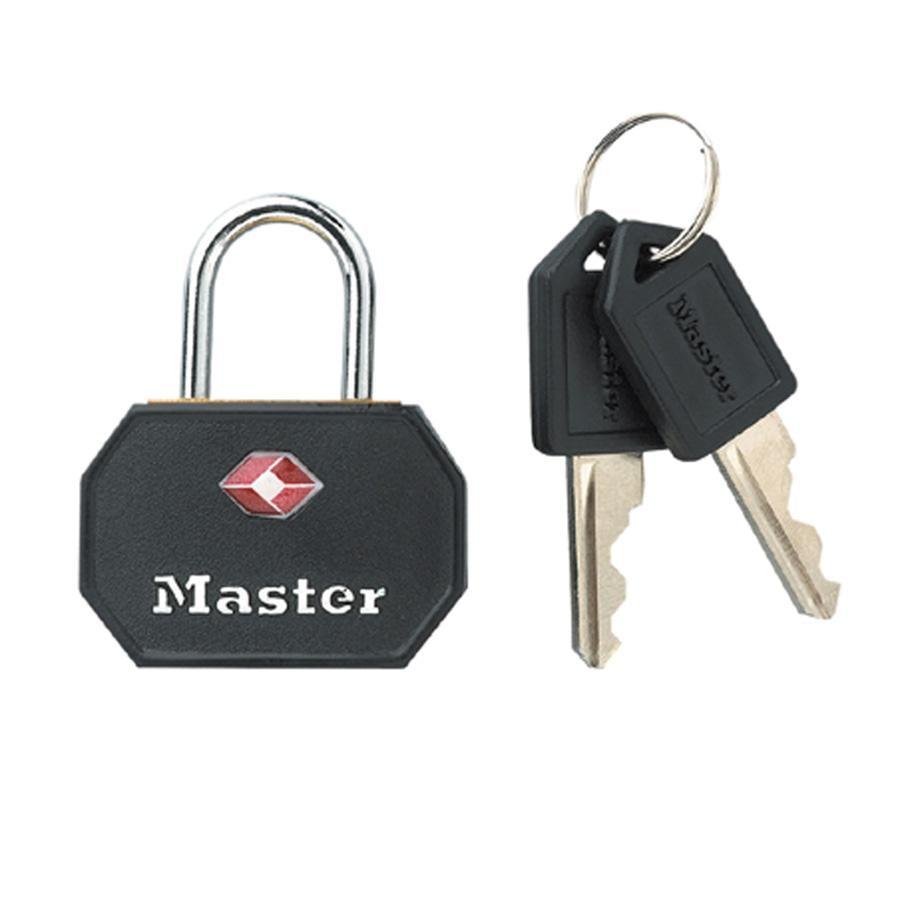 Master Lock Luggage Keyed Padlock