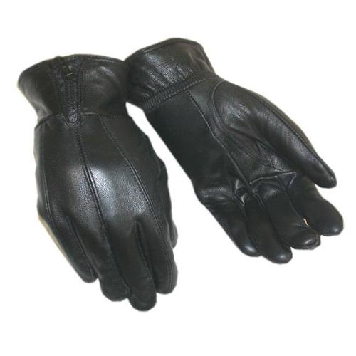 Bond Men's Insulated Leather Gloves Black- XL