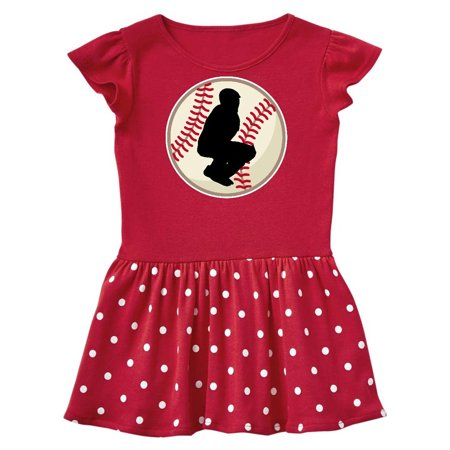 Baseball Player Catcher Infant Dress](Baseball Dress)