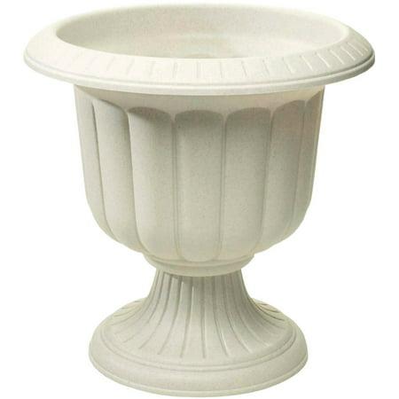 NOVELTY MFG CO Planter, Classic Urn, Stone Resin, 19-In. (Fiberglass Resin Urn)