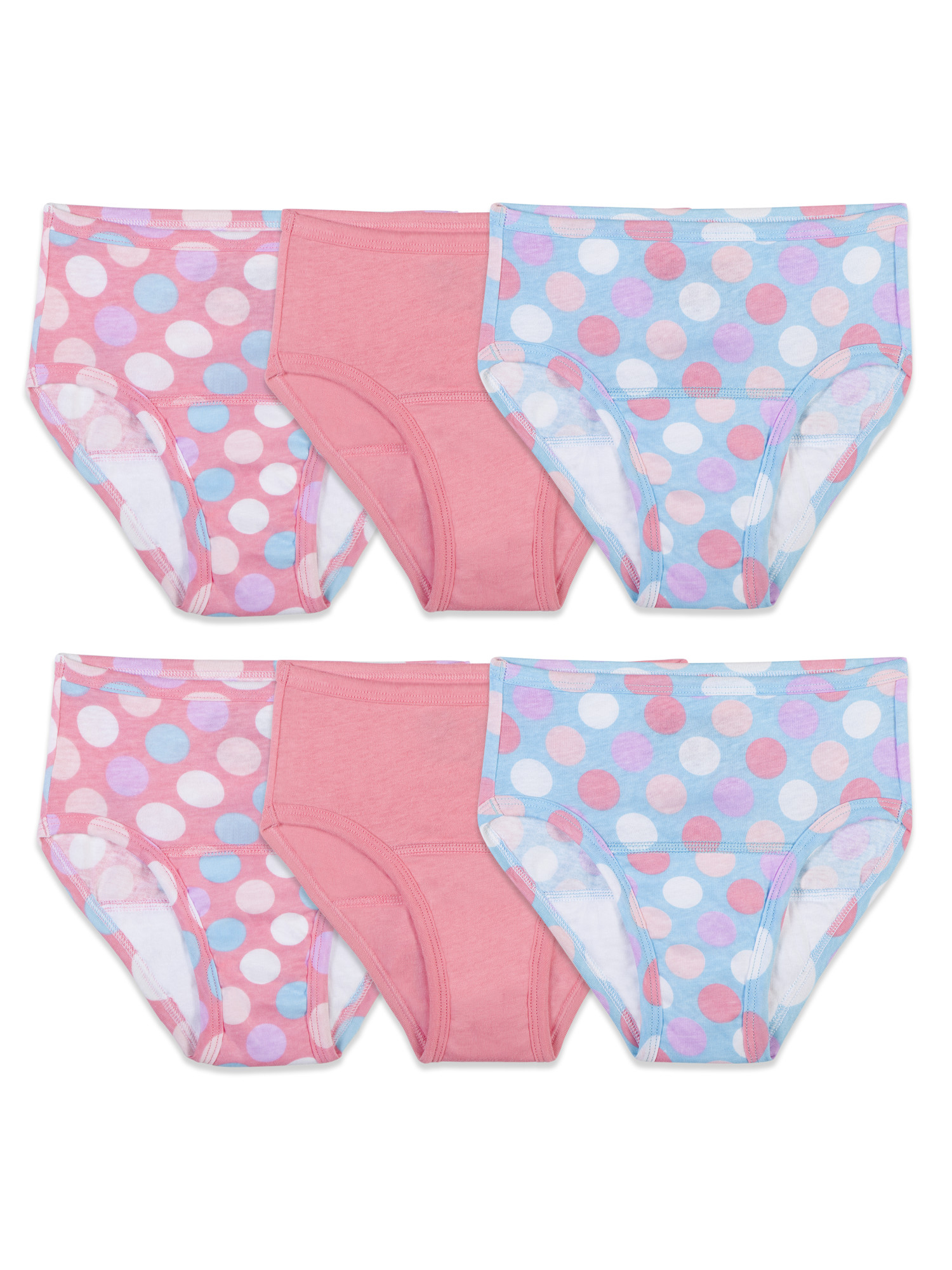 Assorted Potty Training Pants, 6 Pack (Toddler Girls)