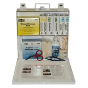 First Aid Only ANSI Plus #50 207 Piece Steel Case First Aid Kit w/ Wall Mount