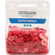 Buttons Galore Button Bonanza-Watermelon Splash