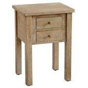 Jamison Side Table, Rustic Mango Grey Wash