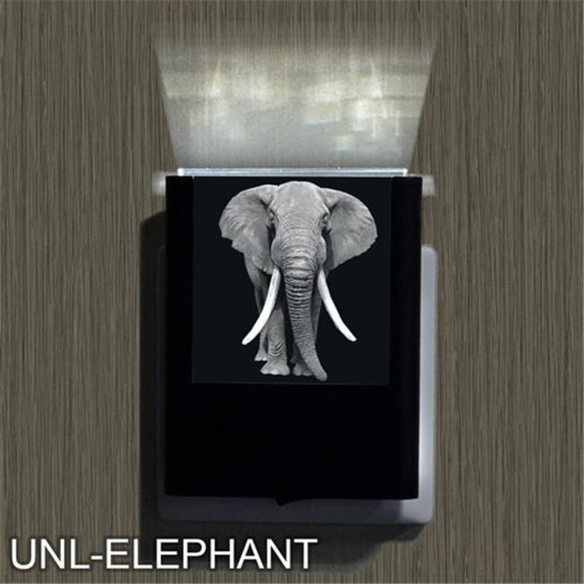 Uniqia UNLG0039 Night Light - Elephant Laser