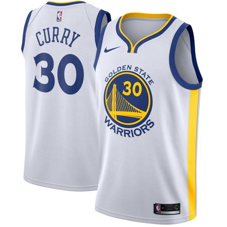 lowest price a4096 c91cb Stephen Curry Golden State Warriors Nike Swingman Jersey White -  Association Edition