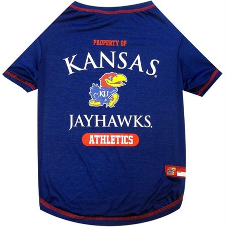 Kansas Jayhawks Pet Tee Shirt - Large - image 1 de 1