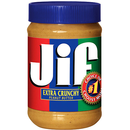Jif Crunchy Peanut Butter, 28 oz