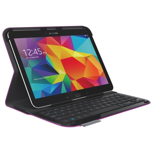 Logitech 920-006917 Ultrathin Keyboard Folio for Samsung Galaxy Tab 4 10.1 (Purple)