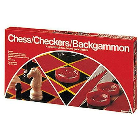 Pressman Toys Pre111312 Chess/ Checkers/ Backgammon - image 1 of 1